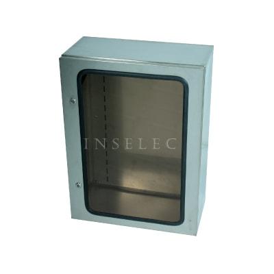 15.GABINETE INOX VISOR TRANSPARENTE 17 BEAUCOUP I-3080/T